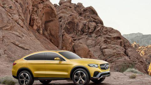 Mercedes GLC Concept, todocamino, compacto y deportivo