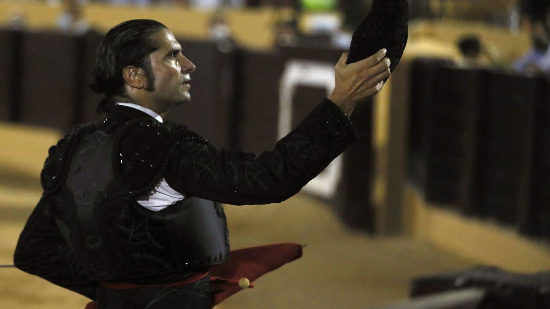 Javier Conde, en la corrida de Osuna. (EFE)