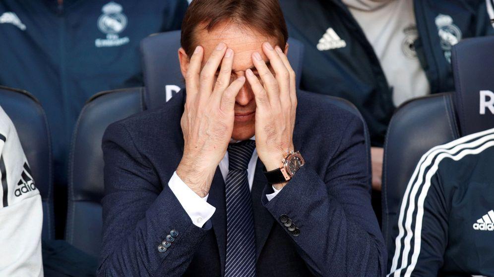Foto: Julen Lopetegui en el Camp Nou. (Reuters)