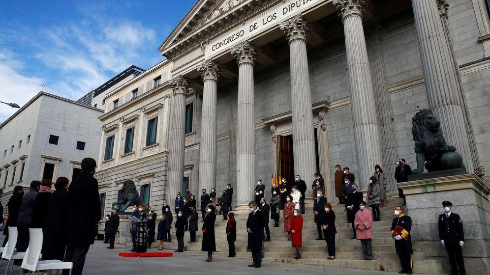 Foto: Celebraciones por el día de la Constitución. (EFE)