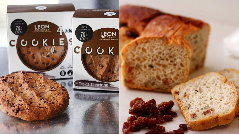 Galletas y pan que puedes adquirir en Leon the Baker. (Cortesía)