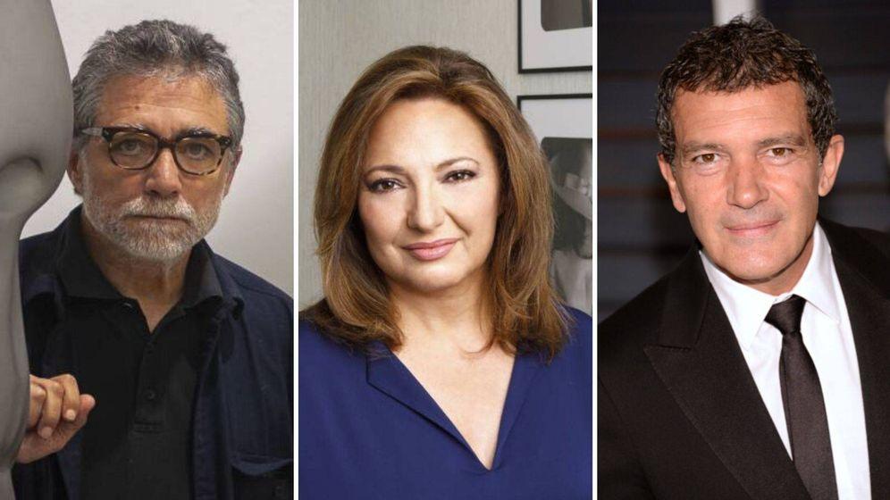 Foto: Jaume Plensa, Marta Álvarez y Antonio Banderas optan al premio personalidad del año en los Premios Influentials.