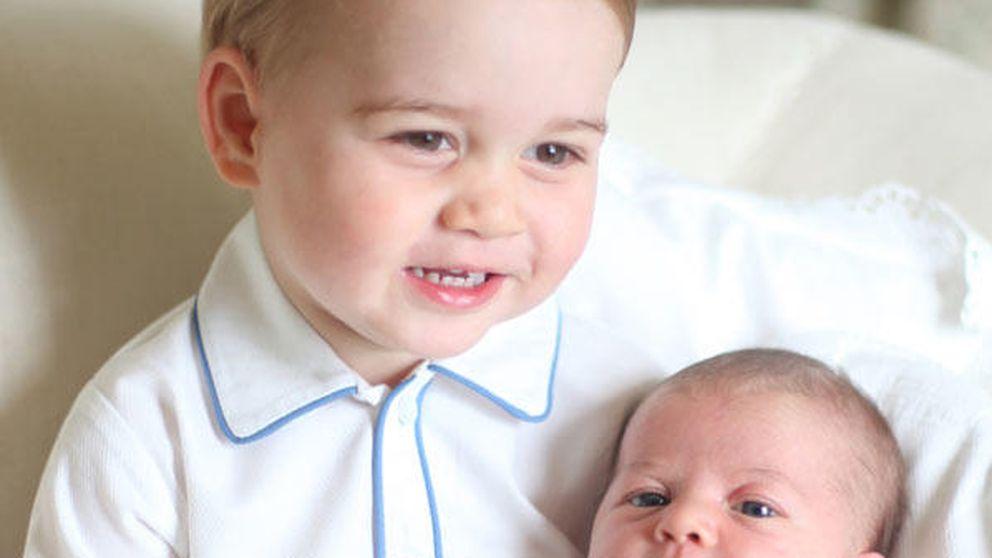 Así son las primeras imágenes oficiales de la princesa Charlotte