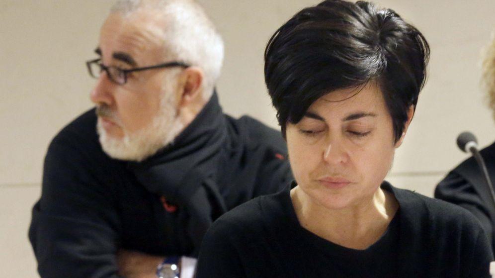 Foto: Alfonso Basterra y Rosario Porto, padres de Asunta, durante el juicio (EFE)