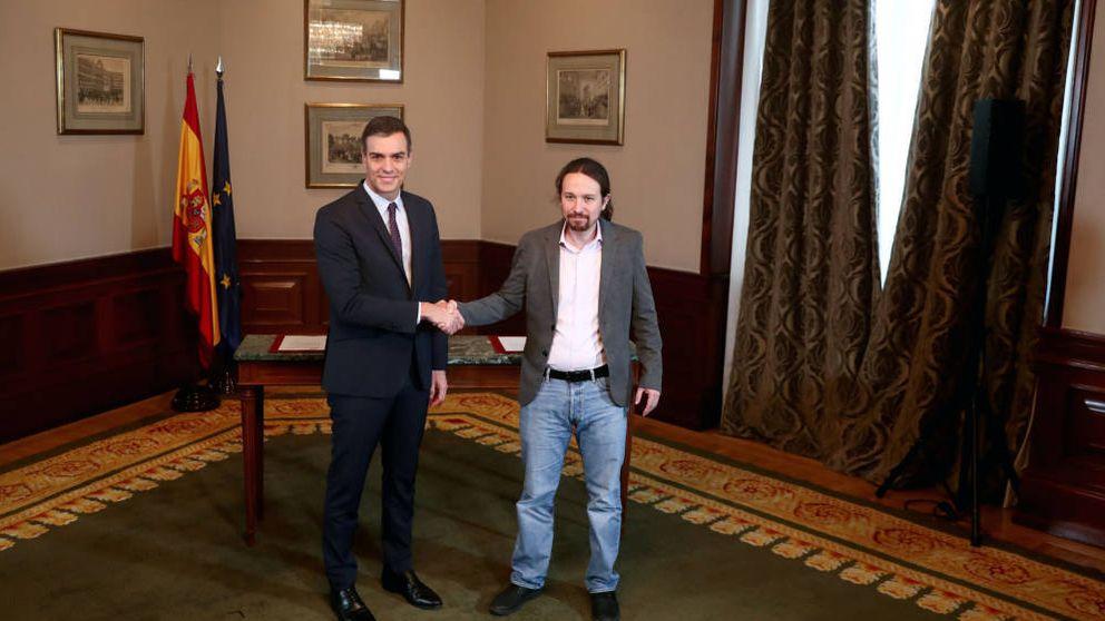 Es un acuerdo de cuatro años: Sánchez cierra un pacto con Podemos con Iglesias de vicepresidente