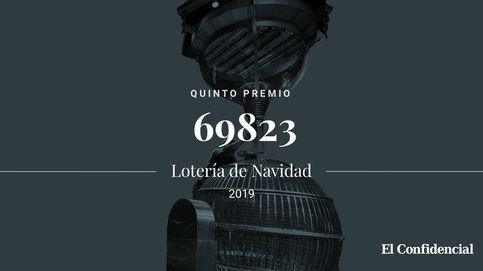 Solo queda uno: el séptimo quinto premio se lo lleva el 69823, con 6.000 por décimo
