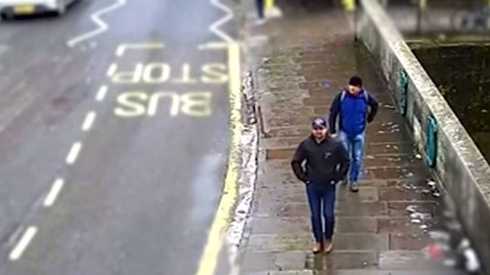UK difunde un vídeo de los sospechosos del ataque químico a los Skripal