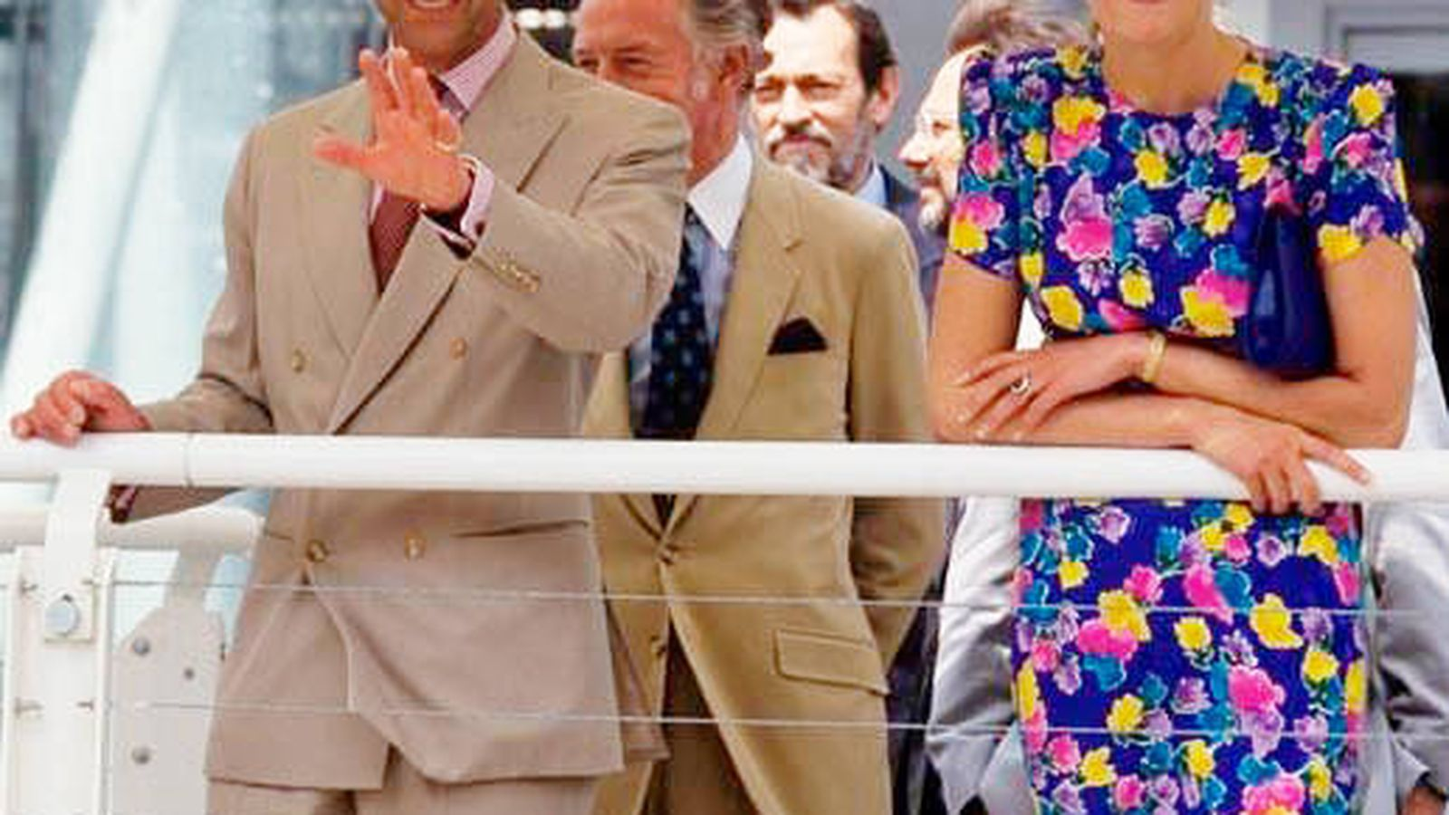 Foto: Carlos de Inglaterra y Lady Di, en la Expo '92. (Cordon Press)