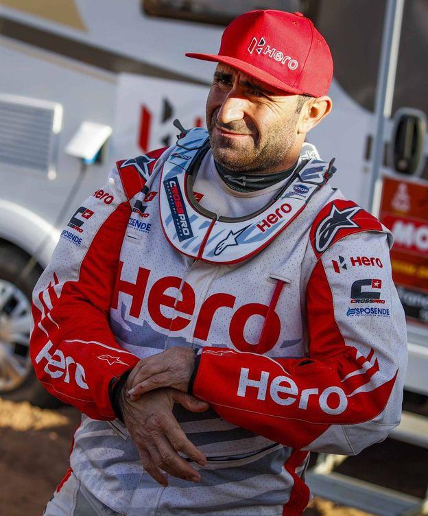 Foto: El piloto portugués Paulo Gonçalves fallecía en un accidente en el Dakar, uno de los pilotos más queridos de la caravana.