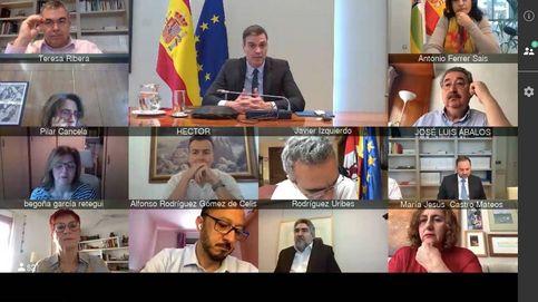 Despolitizad la emergencia, el primer recado de Sánchez a su cúpula tras la alarma