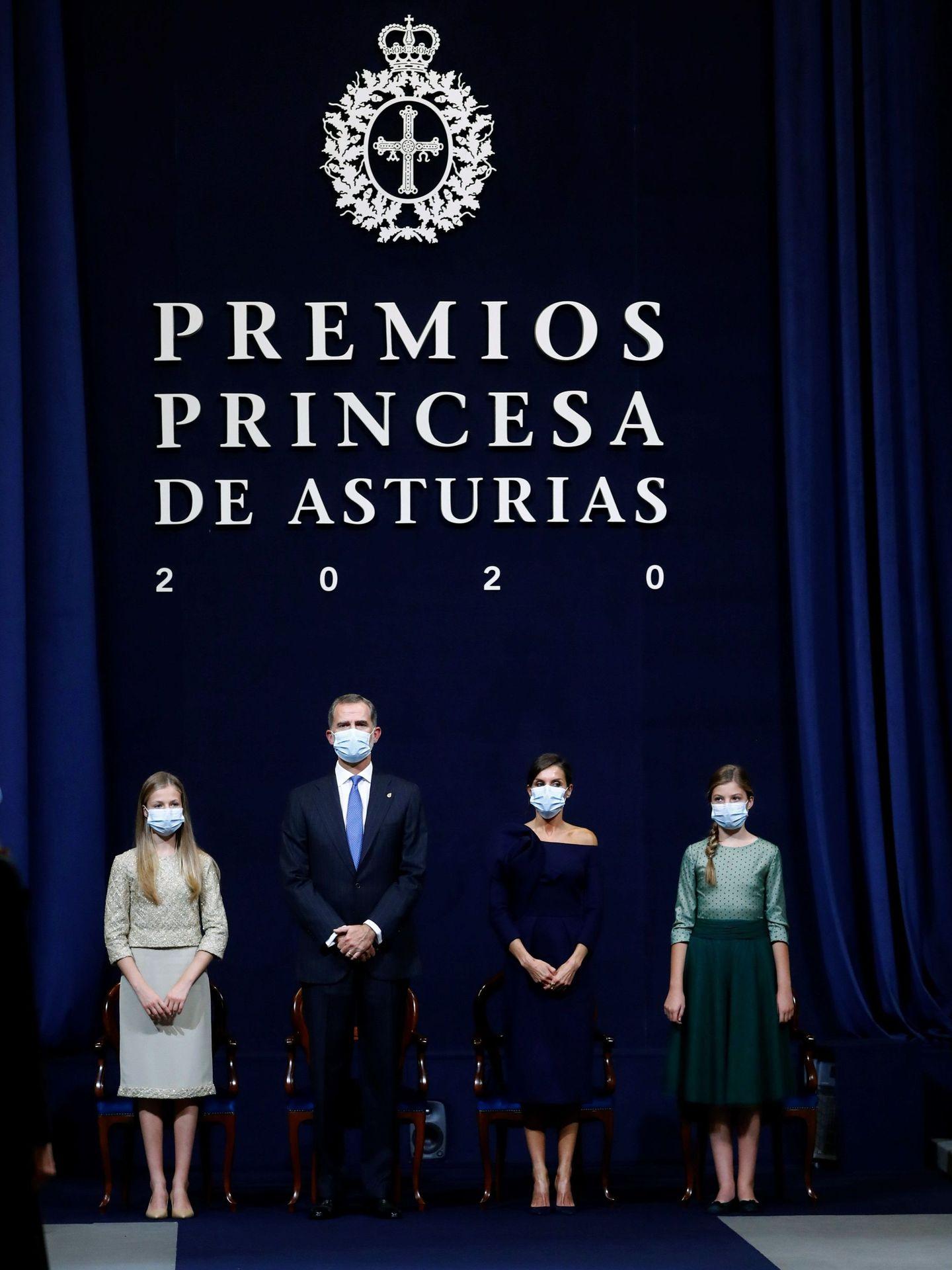 Los Premios Princesa de Asturias de 2020. (EFE)