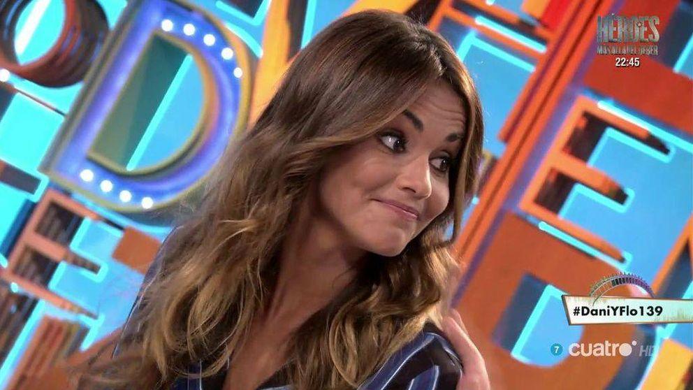Lara Álvarez enmudece en 'Dani & Flo' cuando se habla de su ex,  Alonso