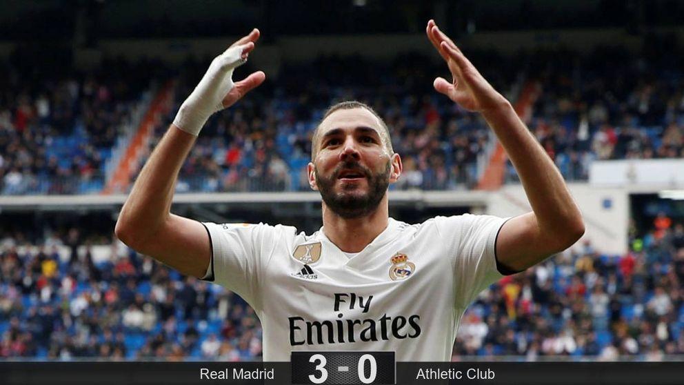 El antivirus de Benzema en un Real Madrid con bronca entre Lucas Vázquez y Casemiro