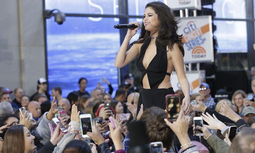 Foto: Selena Gómez en concierto. (EFE)