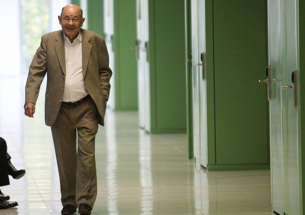 Foto: Félix Millet a su llegada a los juzgados (Efe)