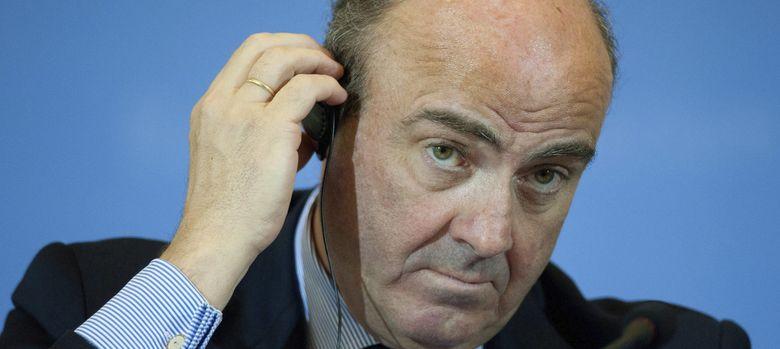 Foto: Luis de Guindos, ministro de Economía