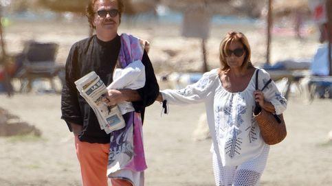 María Teresa Campos y su novio, atrapados por el temporal en Madeira