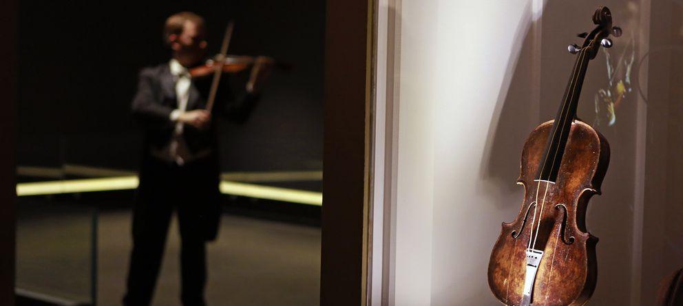Un millón de euros por el violín que sonó durante el hundimiento del Titanic