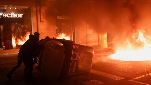 Noche de disturbios en Cataluña: 29 heridos y 15 detenidos en las protestas por Hasél