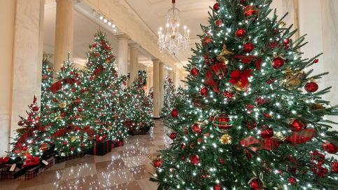 Más de 60 árboles de Navidad, la última decoración de Melania en la Casa Blanca