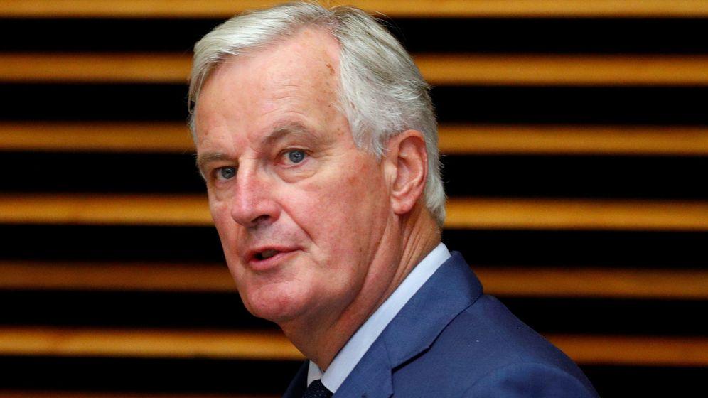 Foto: El negociador de la Unión Europea para el Brexit, Michel Barnier, quien ha conducido con firmeza las discusiones. (Reuters)