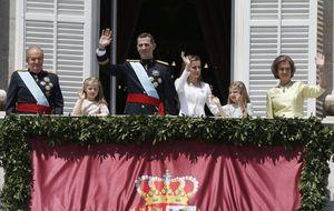 Los gestos de Felipe VI delataron su nerviosismo