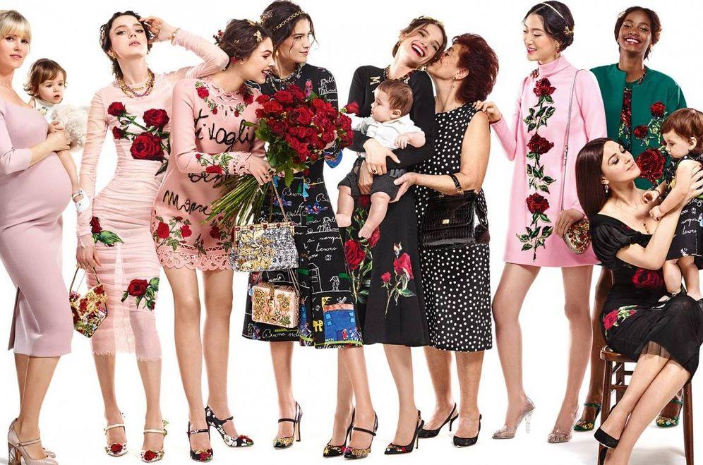 Foto: ¿Todo lleno de embarazadas en tu radio de acción? (Foto: Dolce & Gabbana)