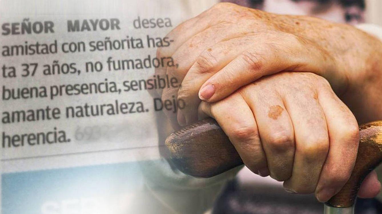 Anciano busca mujer de hasta 37 años a cambio de 400.000 euros de herencia