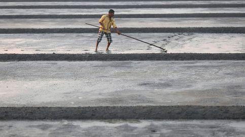 Campos de sal en Mumbai