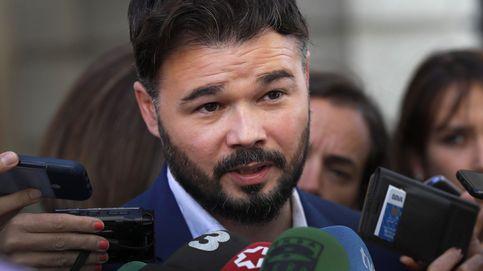 Gabriel Rufián pide a Quim Torra que condene la violencia en Cataluña
