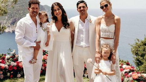 La boda ibicenca de Giulia Coppini y Gio, el hijo de Diego Simeone