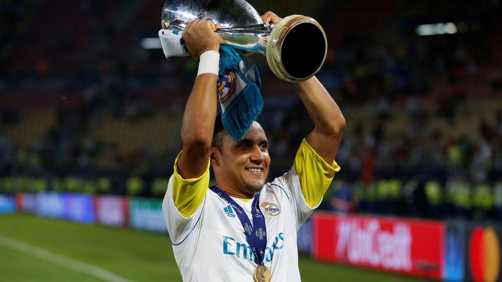 Foto: Keylor sigue ganando títulos como portero titular. (Reuters)