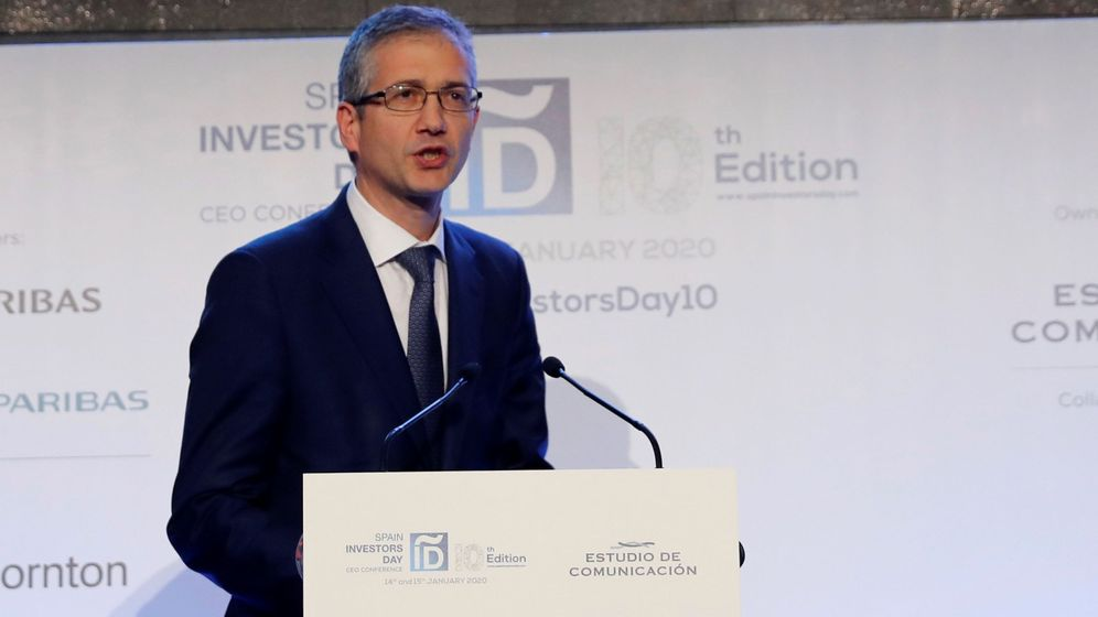 Foto: Gobernador del Banco de España, Hernández de Cos (EFE)