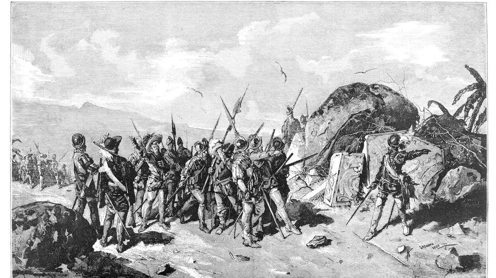 Foto: Grabado de Francisco Pizarro de 1894. (iStock)