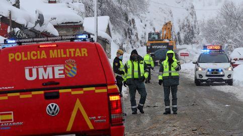 La UME interviene en Madrid para ayudar a los conductores atrapados