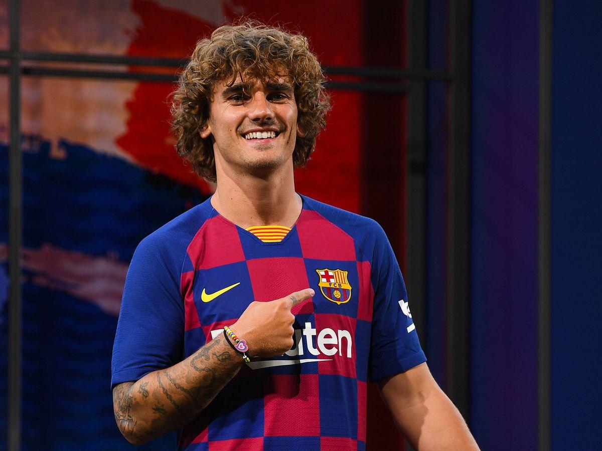 Foto:  El jugador del FC Barcelona Antoine Griezmann. (Getty)