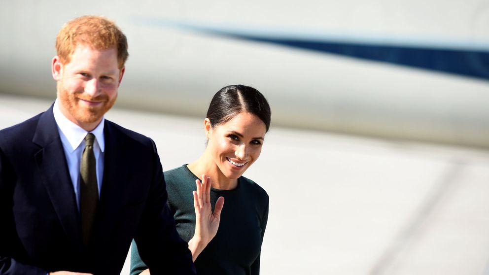 Meghan Markle y Harry aterrizan en Dublín para su visita oficial a Irlanda