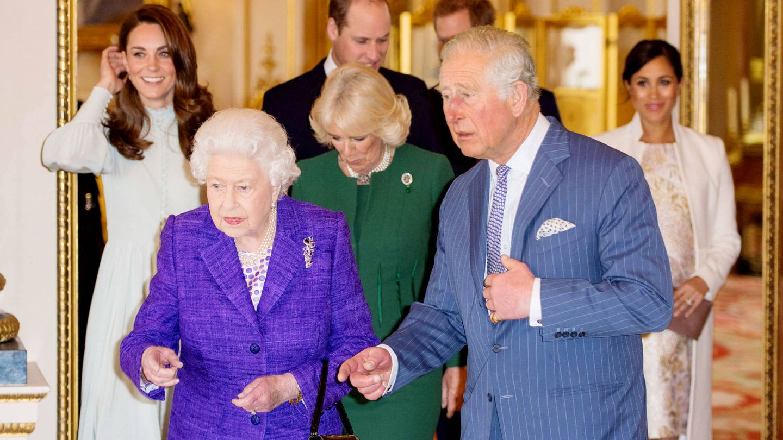 La familia real británica. (Getty)