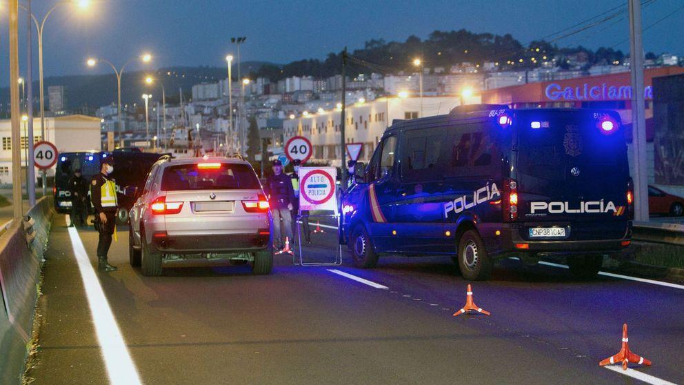Siete denunciados en Pontevedra por montar una fiesta ilegal en un bar