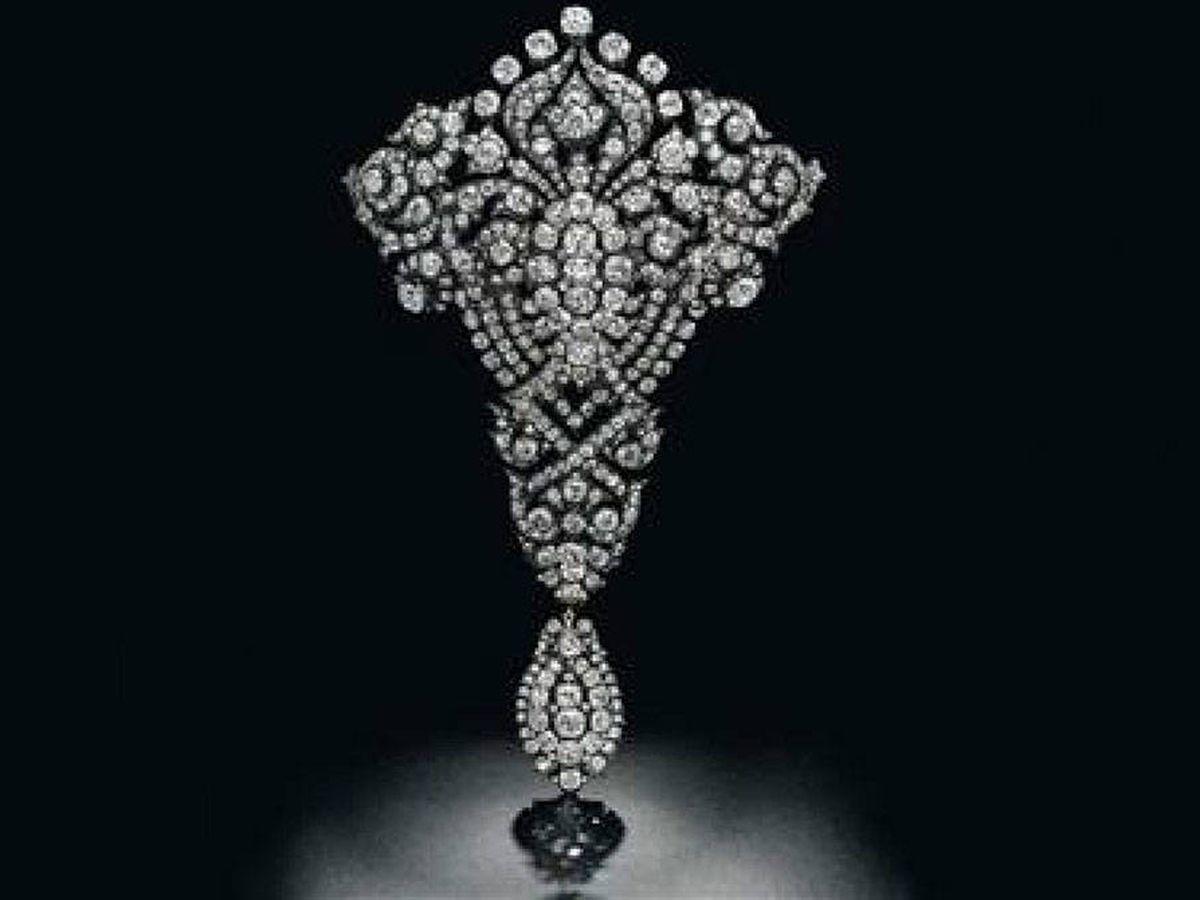 Foto:  El broche de la baronesa Thyssen. (Christie's)