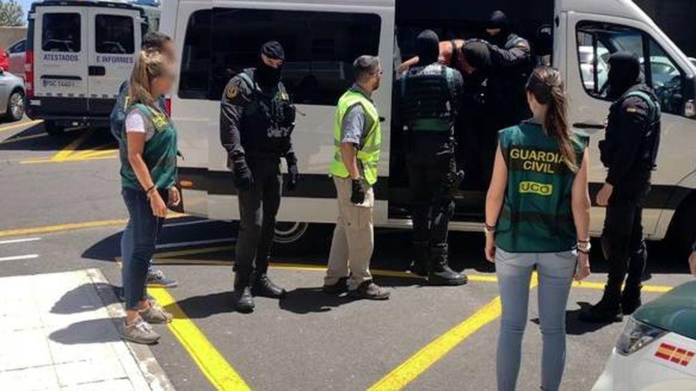 Foto: Detienen en Tenerife a un estadounidense reclamado en su país (Guardia Cvil)
