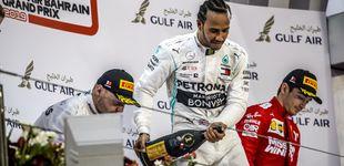 Post de Hamilton gana en el día 'horribilis' de Ferrari y de Carlos Sainz