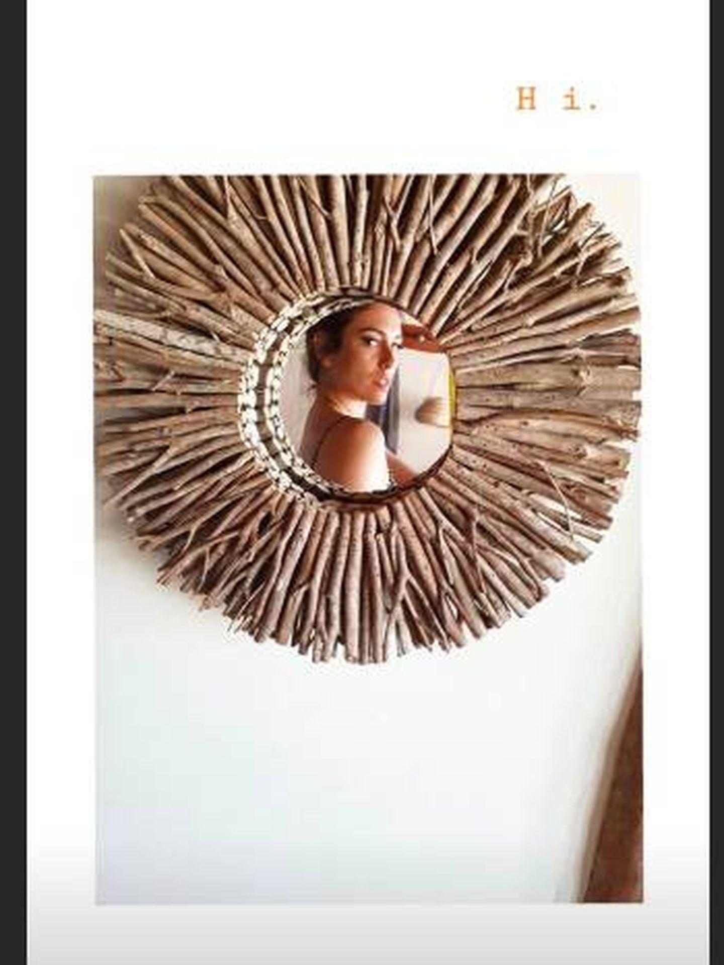 Blanca Suárez en el hotel boutique Aldea Kuká en México. (Instagram)