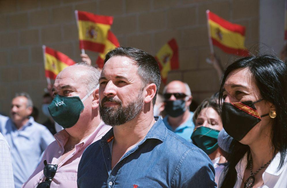 Foto: Campaña de Vox en el País Vasco. (EFE)