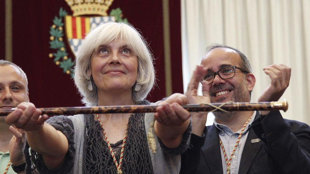 Foto:  Dolors Sabater, de Guanyem Badalona en Comú. (EFE)