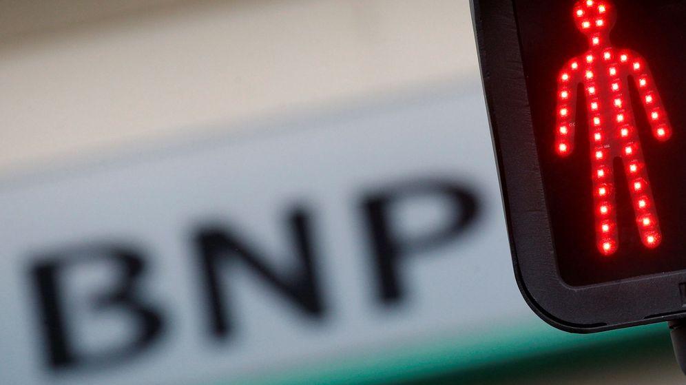 Foto: Logo de BNP Paribas en la fachada de una oficina en Nantes, Francia. (Reuters)
