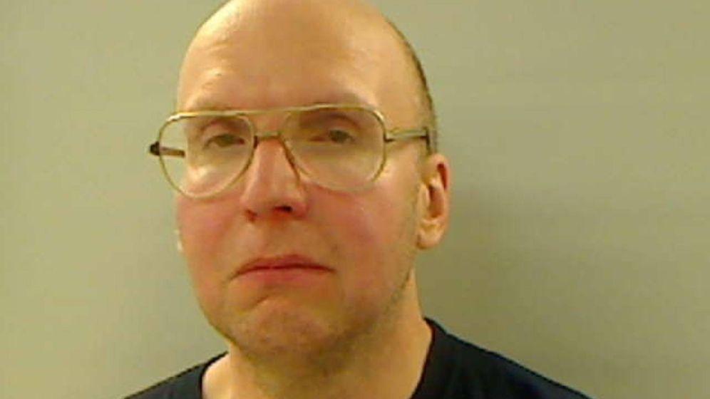 Foto: El retrato de Christopher Knight realizado por la cárcel del condado de Kennebec.