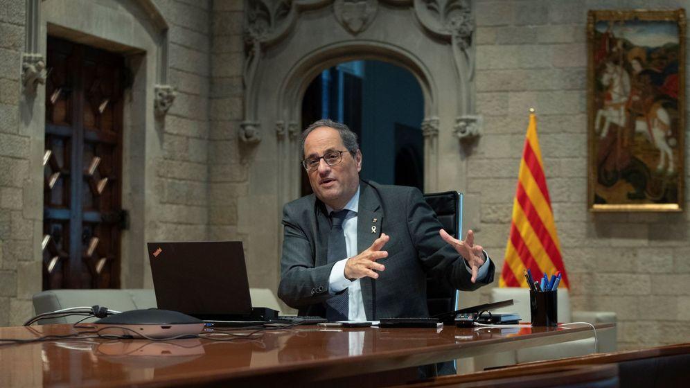 Foto: Quim Torra, presidente de la Generalitat. (EFE)