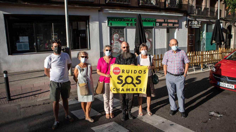 Foto: Vecinos de Chamberí denuncian los ruidos insoportables en la zona. (Isabel Blanco)
