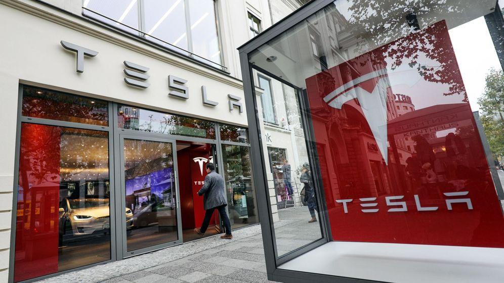 Foto: Fábrica de Tesla en Berlín (Efe)